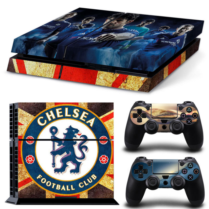 Football Team Chelsea Pvc Protection Decal Skin Cover Case Sticker For Sony Ps4 Playstation 4 Console 2 Controllers Stickers Design Your Own Sticker Permanentcase User Aliexpress