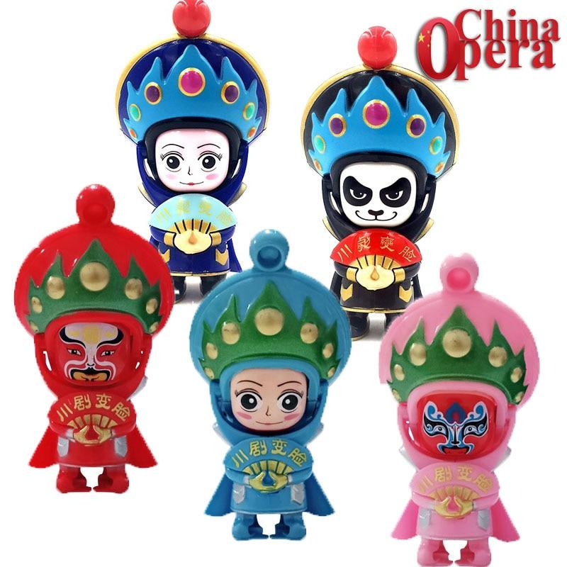 Variety China Drama Sichuan Opera Creative Toys Changing Face