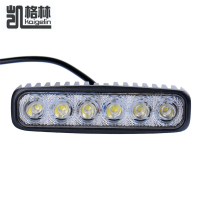 6inch 18W Cree LED Work Drive Light Lamp Bar Combo Flood Spot Beam Offroad Light 12