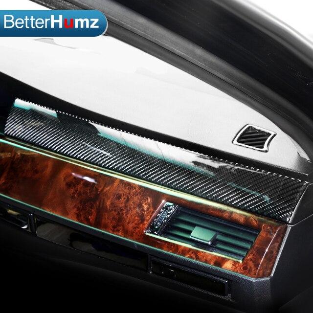 para bmw e60 carbon fibra interior salpicadero del coche. Black Bedroom Furniture Sets. Home Design Ideas