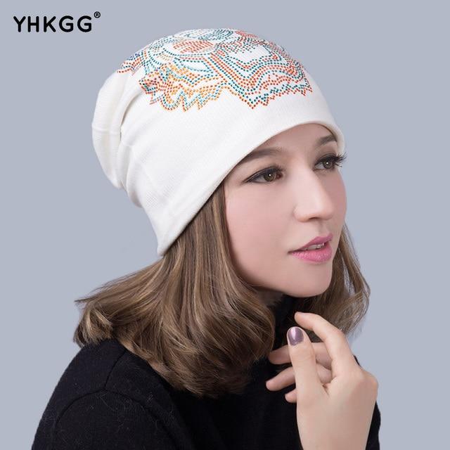 2016 Newautumn and winter beanies diamond cap hip-hop  hat for women men winter wool knitted brand new