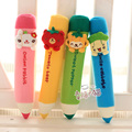 4PCS a lot holiday sale children activity gift cute plush pencil case creative bag pendant stationery
