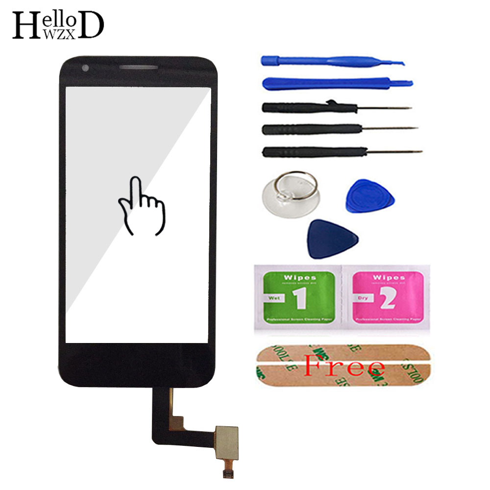 Mobile Touch Screen Front Glass Lens Sensor For Alcatel One Touch Pixi 3 4027 4027X 4027D OT4027 Touch Screen Digitizer Panel