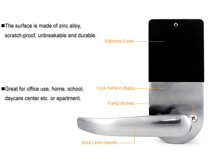 Smart Lock with Remote Control 5
