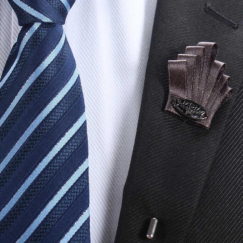 Su misura Smith Fiore Spilla Nastro di Rame Risvolto Spilli Vestito Del Progettista di Moda di Lusso casual Bastone Spille Risvolto Spille Uomo Accessori
