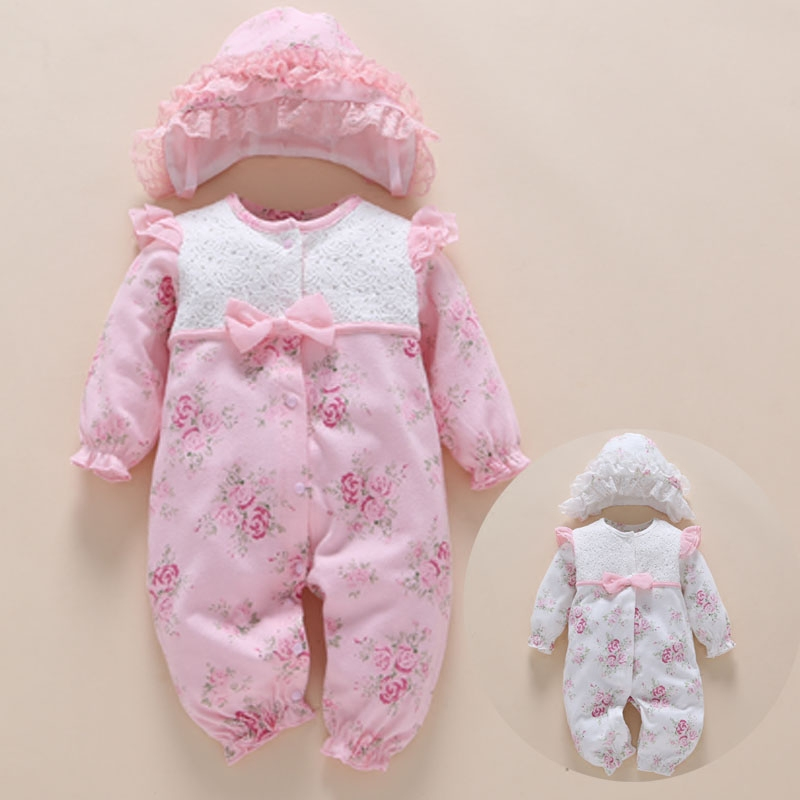 New Born Baby Girl Rompers Body Set Floral kids Romper Lace Infant Jumpsuit Flower Playsuit Toddler Costume Bowknot Clothes Suit newborn infant baby clothes girl floral strap lace romper jumpsuit playsuit outfit cute summer baby romper onesie