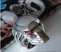 Японские новые ювелирные изделия из стерлингового серебра 925 пробы мотоциклетные панковские панцири шлемы мужские кольца
