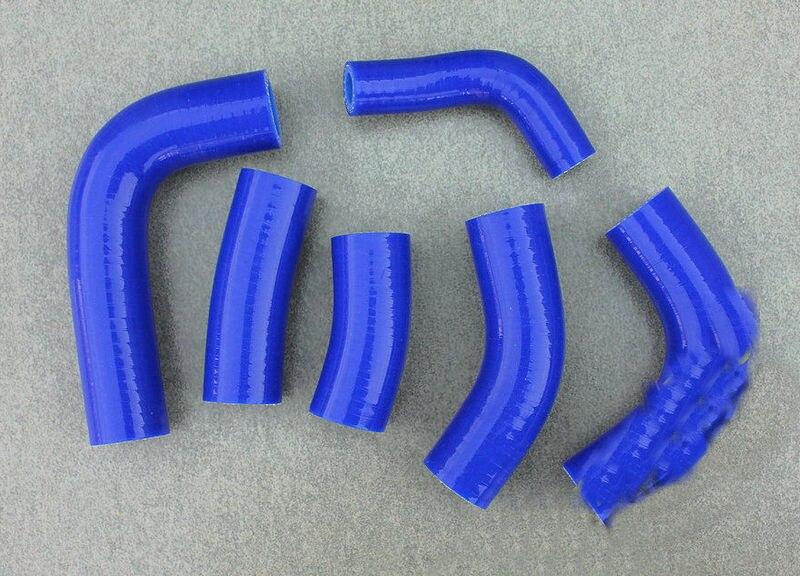 SILICONE RADIATOR COOLANT HOSE KIT HONDA CBR600RR CBR600 RR 2003 2004 BLUE