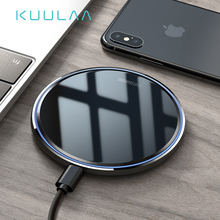KUULAA Wireless Charger 10W Qi for Samsung S9 S10+ Note 9 8