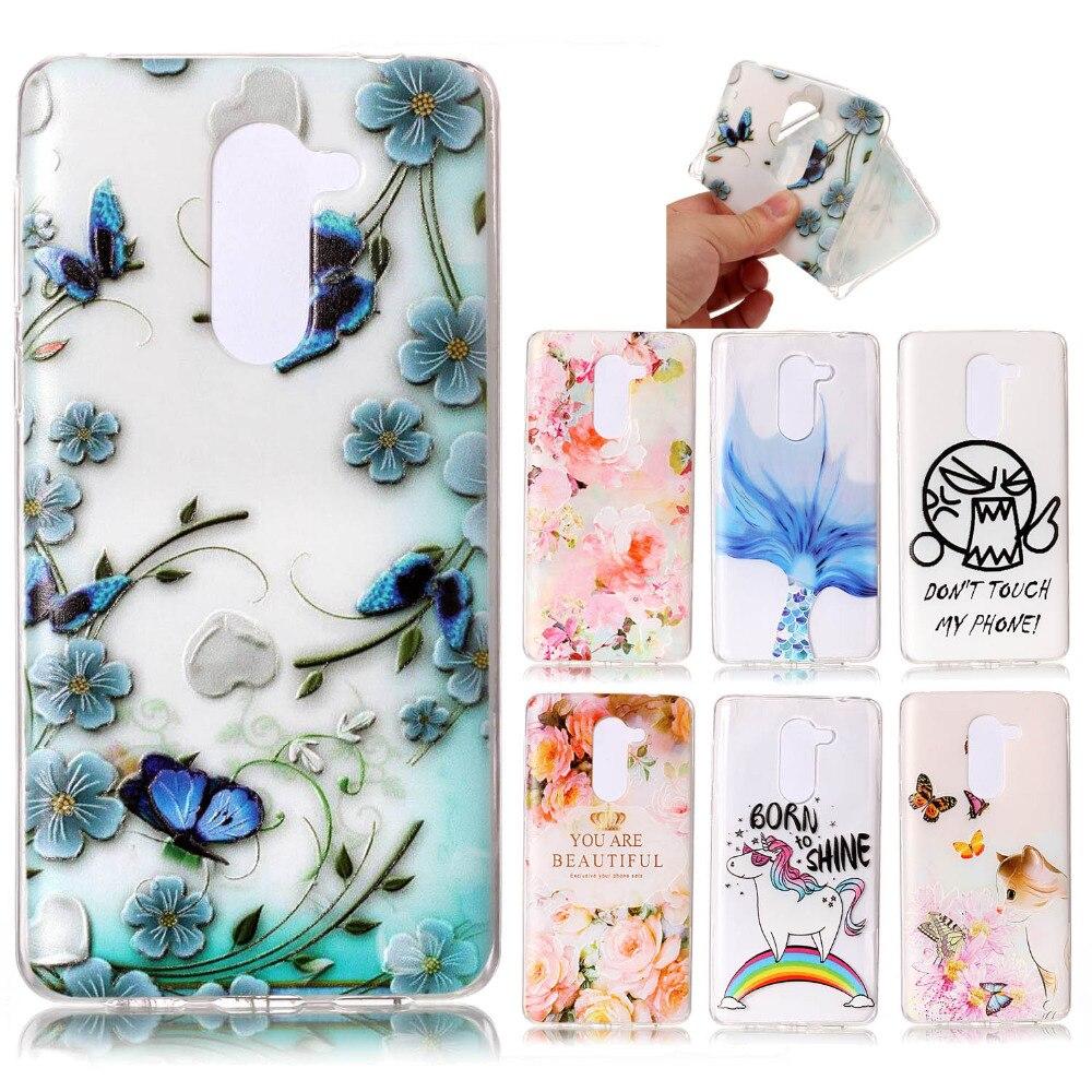 Huawei Honor 6X cas Bande Dessinée 3D TPU Soft Shell Cas de Couverture Pour (huawei compagnon 9 lite) MILLIARDS TL10 AL10 TL00 BLL L21 L22 L24 L23 cas