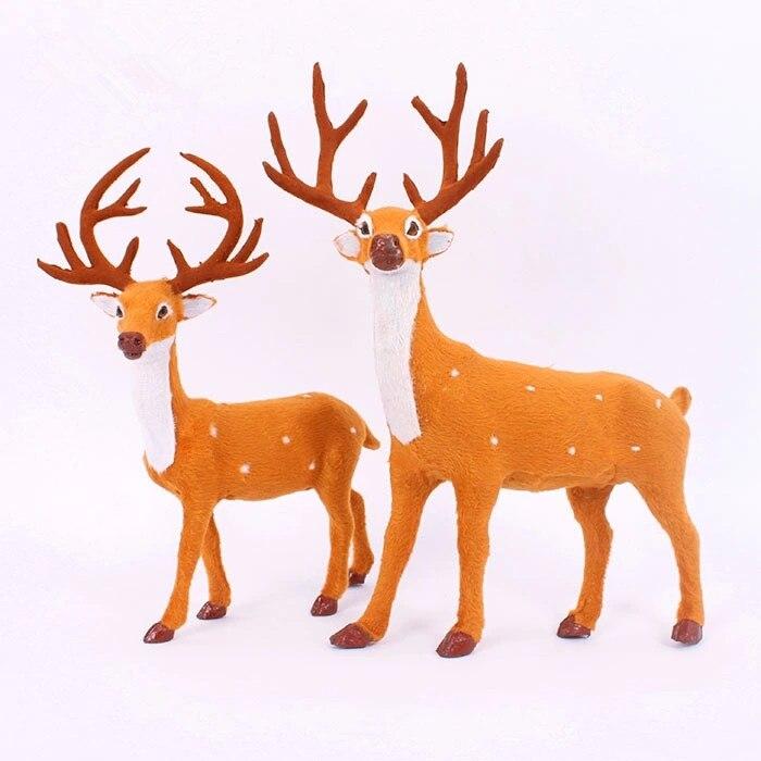 Promation Ornamento De La Navidad Decoraciones Ciervo Navidad Reno - Ciervo-navidad