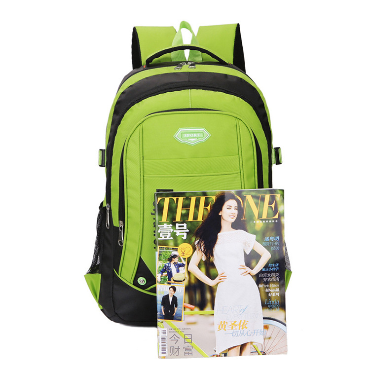 DICEVALM Waterproof Nylon ManS Backpack Female School Bags For Teenage Girls Korean Style Shoulder Bag Laptop Backpack Travel