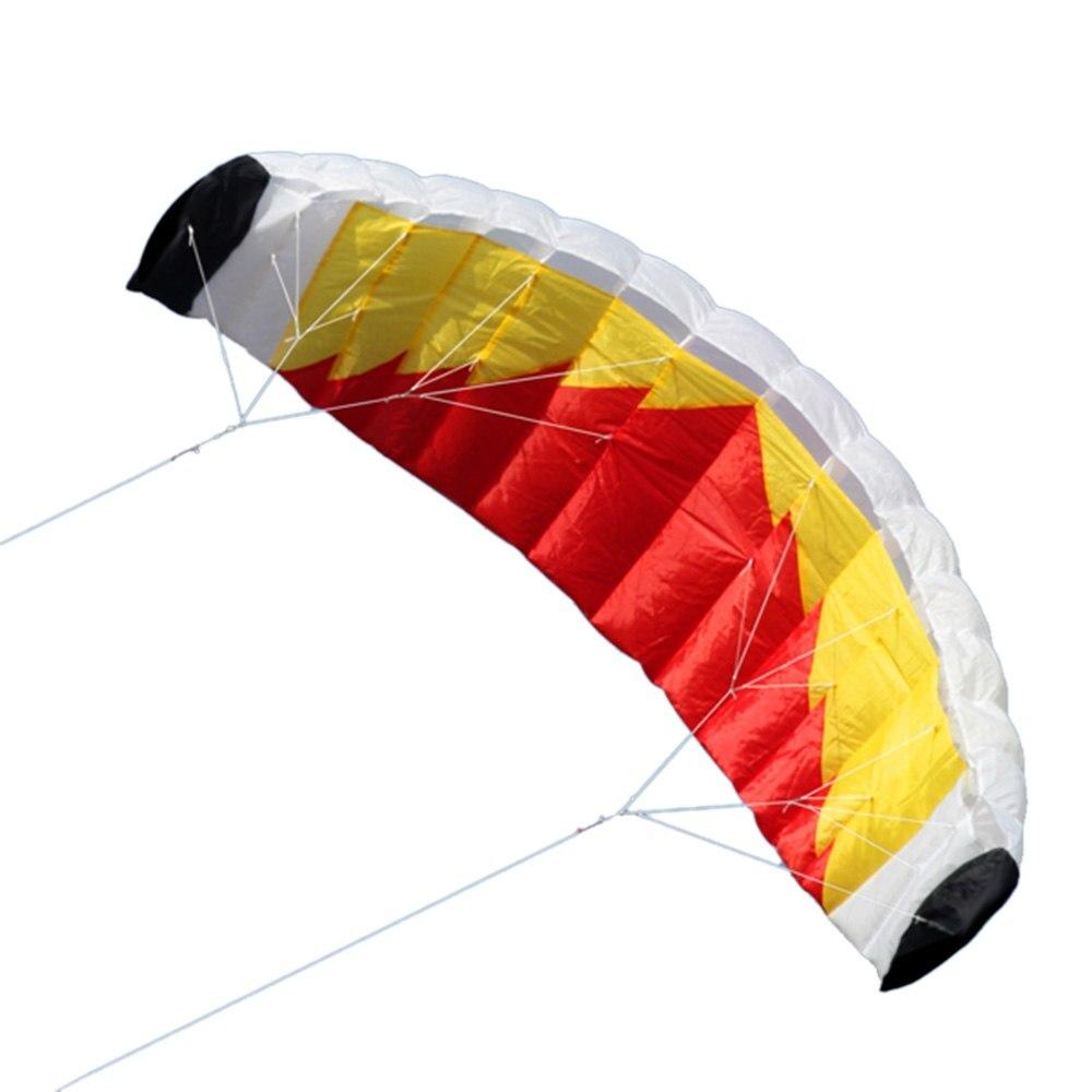 Nouveauté cerf-volant Parafoil à double ligne de haute qualité avec ligne de 30 M jouets d'extérieur pour adultes