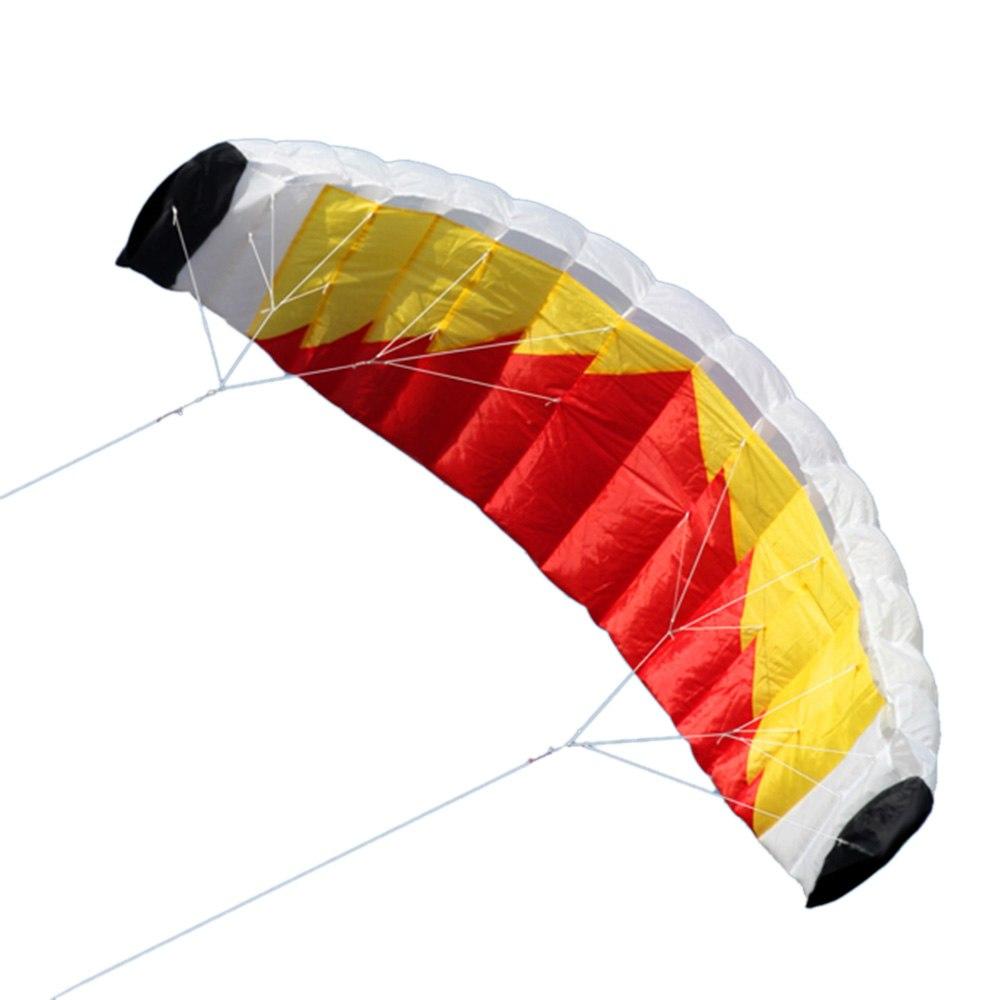 Nouveauté qualité supérieure Grand Double Ligne Stunt cerf-volant parafoil Avec 30 M Ligne En Plein Air Jouets Pour Adultes Plaisir Plage Vol Cerf-Volant Acrobatique
