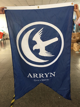 Game Of Thrones House Arryn Licensed Banner Tapestry Big New Banner Flag 3ft x 5ft