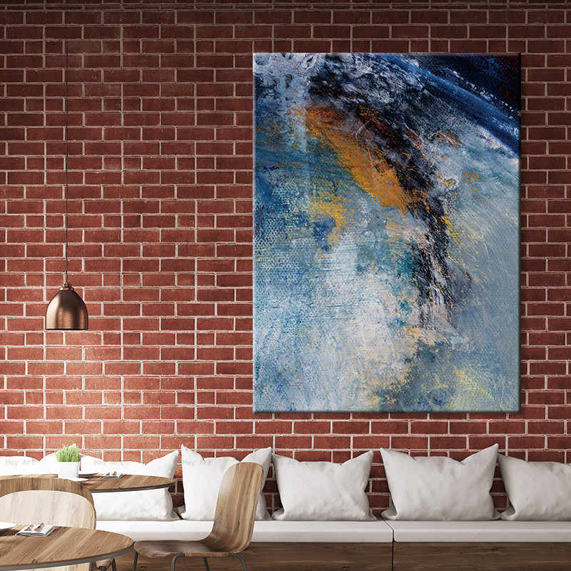 Abstract Nordic Style Painting on Canvas Posters and Prints Art Wall Pictures For Living Room Home Decor