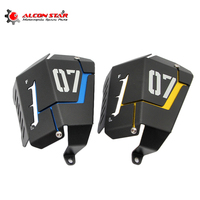 2 Color Motorcycle Coolant Recovery Tank Shielding Guard Frame Cover Protector Case For Yamaha MT 07