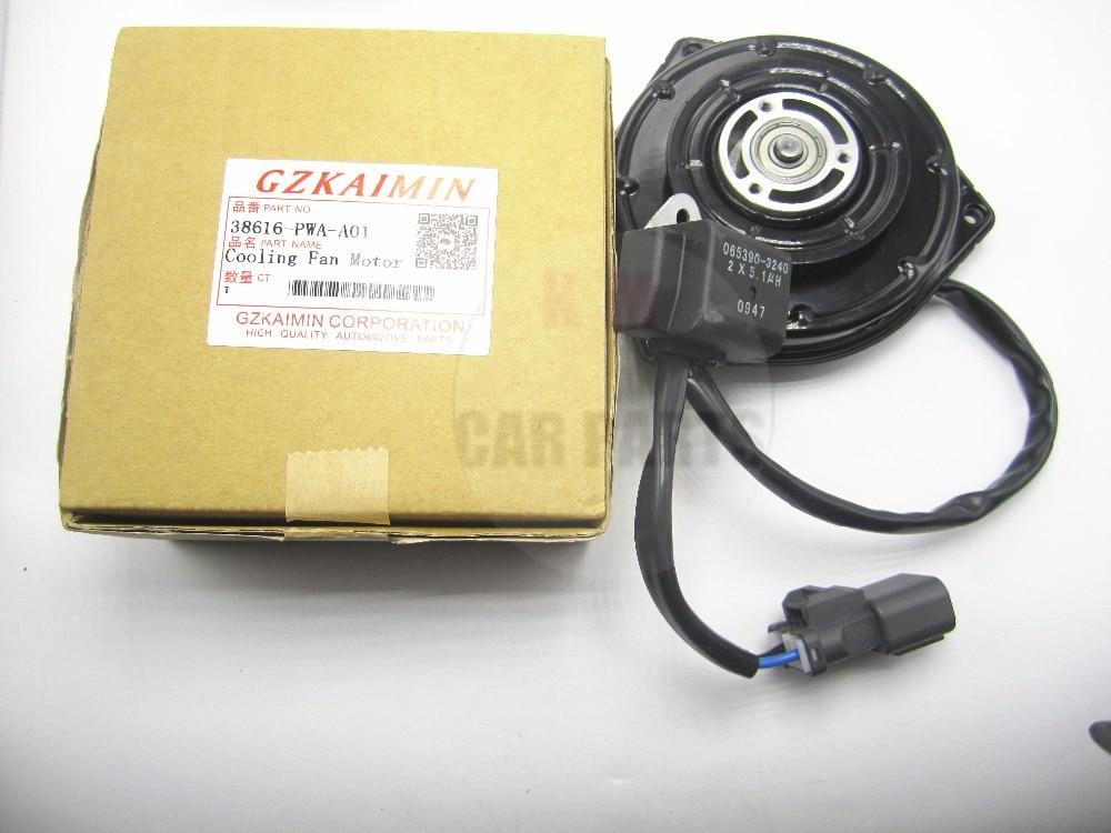 TOP qualité nouveau radiateur ventilateur moteur 38616-PWA-A01 38616PWAA01 pour pour Honda FIT 2005-2008 nouveau