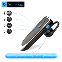 Samload Wireless Bluetooth Earphone Headset Noise Canceling Business Bluetooth Earphone Wireless For A Handsfree Mobile Phone