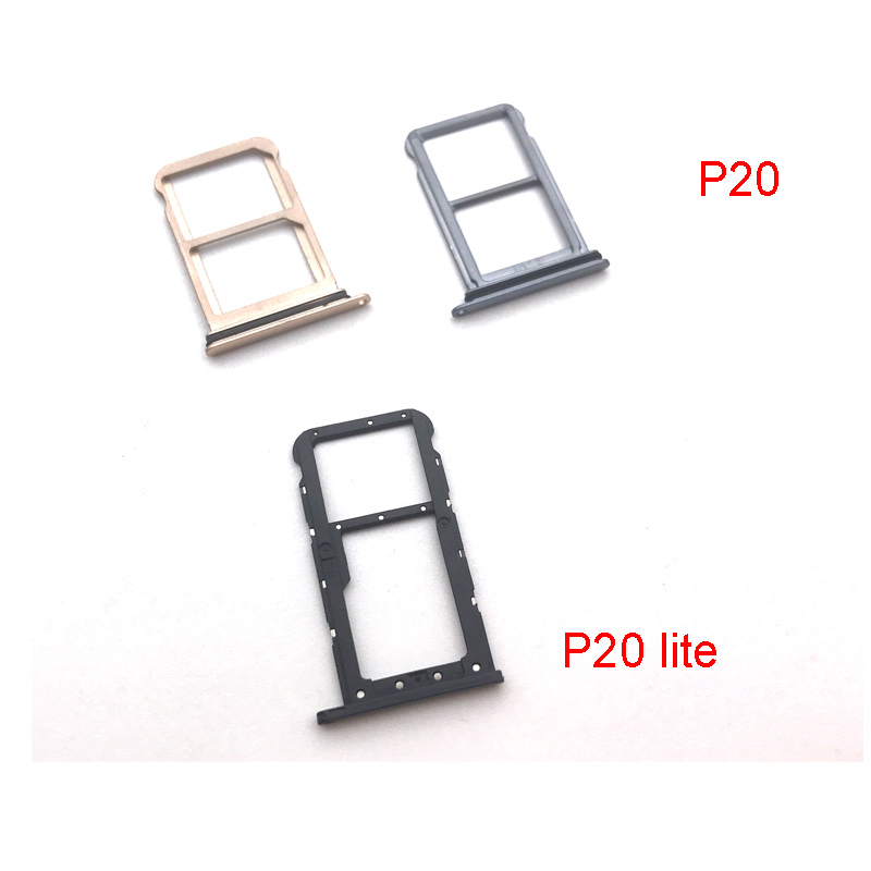 For Huawei P20 Lite Pro SIM Card Tray Slot Holder Repair Parts