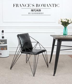 Diament hollow out drutu krzesła Kreatywny kute meble tanie i dobre opinie Meble do salonu Szezlong Meble do domu Nowoczesne Metal