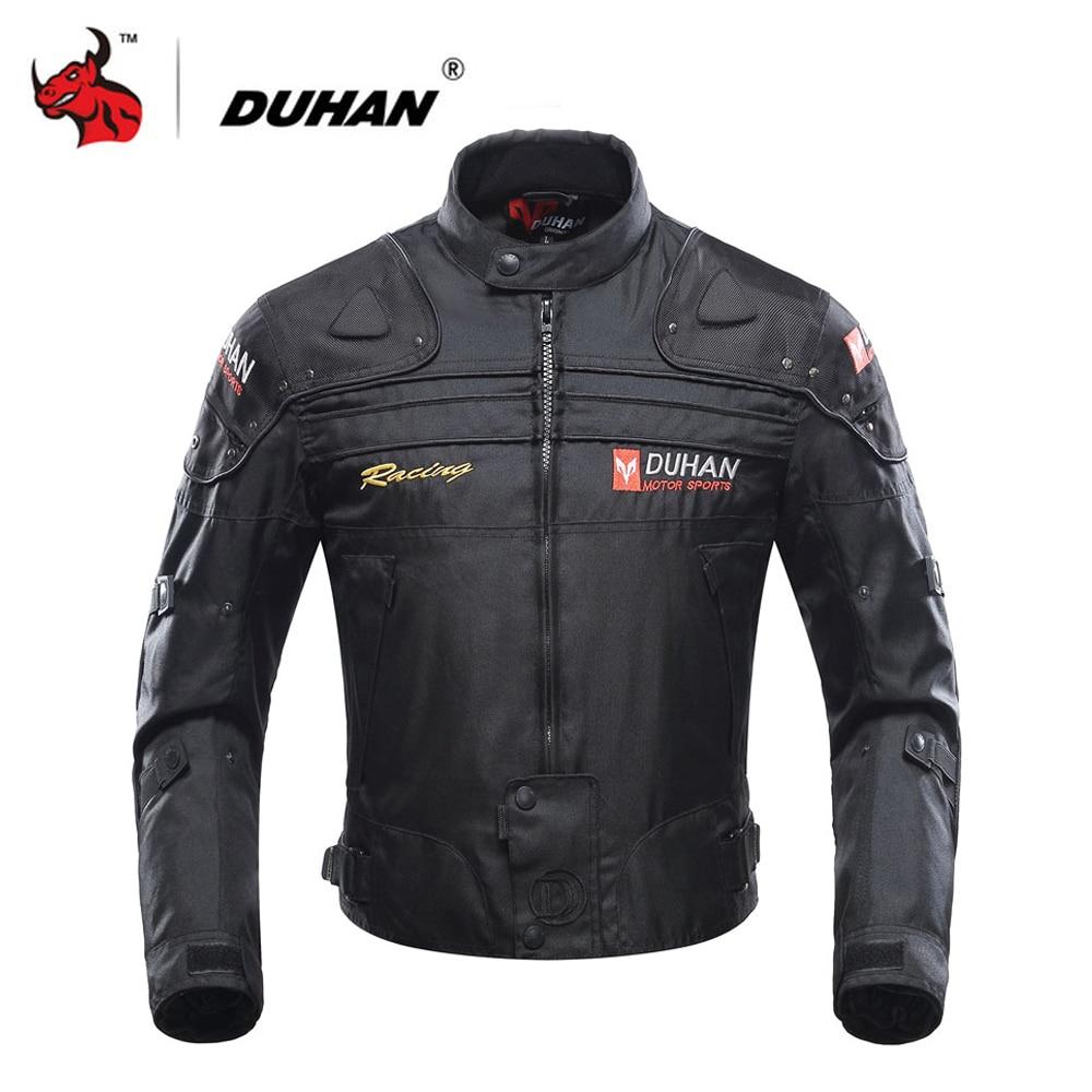 DUHAN chaqueta de la motocicleta Moto chaqueta a prueba de viento de La protectora del cuerpo de la armadura Otoño Invierno Moto ropa