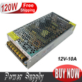 Retail 12V 120W 10A LED Switching Power Supply Driver 100~120V/200~240V AC input