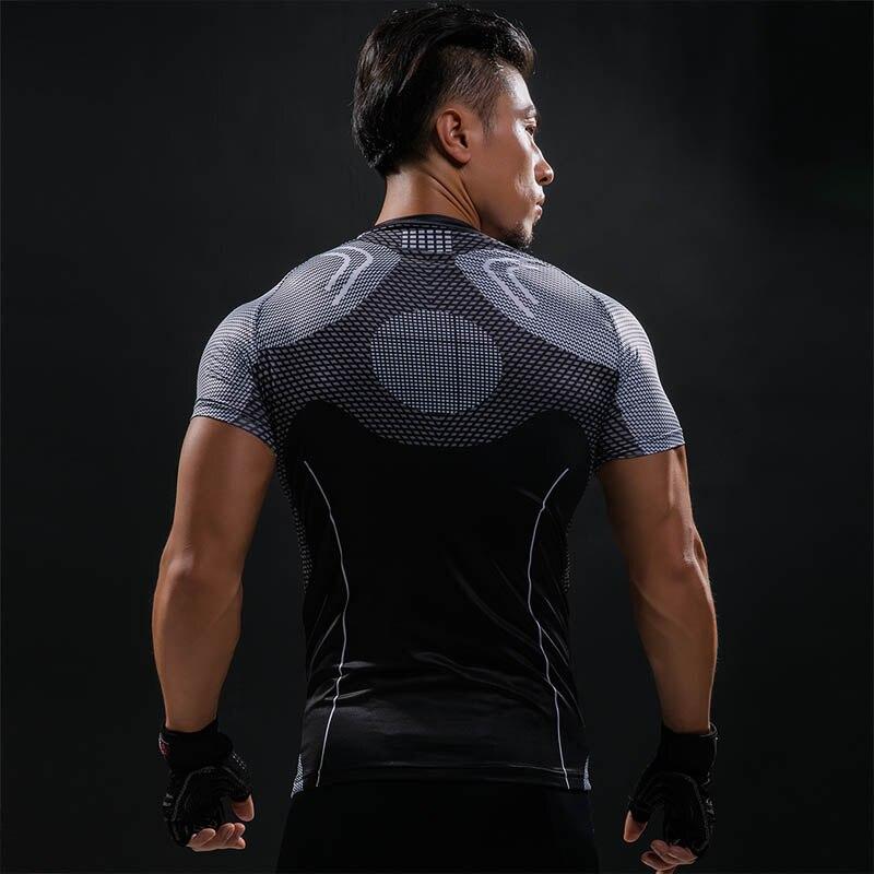 3D trükitud T-särgid Mehed Iron Man Hottoys T-särk Kapten Ameerika - Meeste riided - Foto 3
