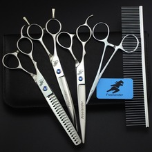 Freelander High Quality Professional Pet Grooming Scissors 7 Inch Left Hand,Scissors For Dog Grooming,Dog Shears