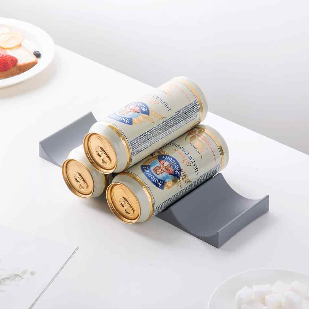 Japan Beer Cans Storage Shelf Desktop Wine Racks Refrigerator Beer Bottle Display Stand Rack Home Bar Decorative Supplies