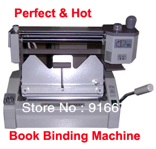 цена на Fast Free shipping Promotion PERFECT HOT Glue Book Binder Binding Machine Milling Spine Rounder