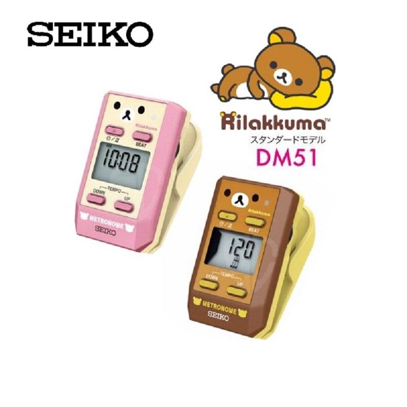 Seiko DM51 Clip-On Digital Metronome With Rilakkuma Special Edition