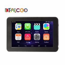 7 Inch Car GPS Navigation Android 4 4 Quad Core WIFI FM tablet pc Truck vehicle