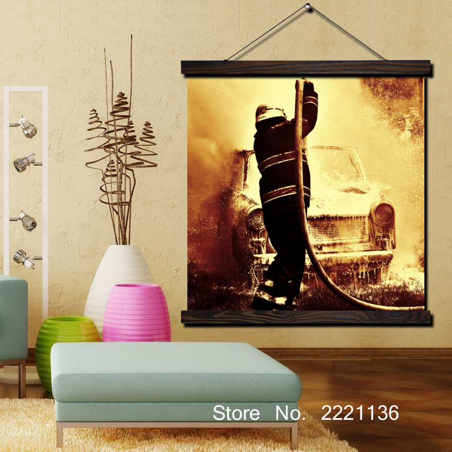 Awesome Firefighter Wall Decor Sketch - All About Wallart ...