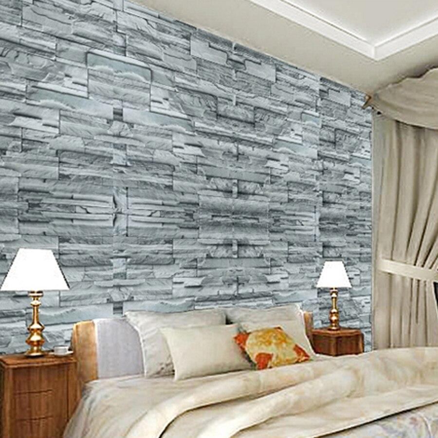 3M / 5M / 10M Αυτοκόλλητα τοίχου από τούβλα - Διακόσμηση σπιτιού - Φωτογραφία 4