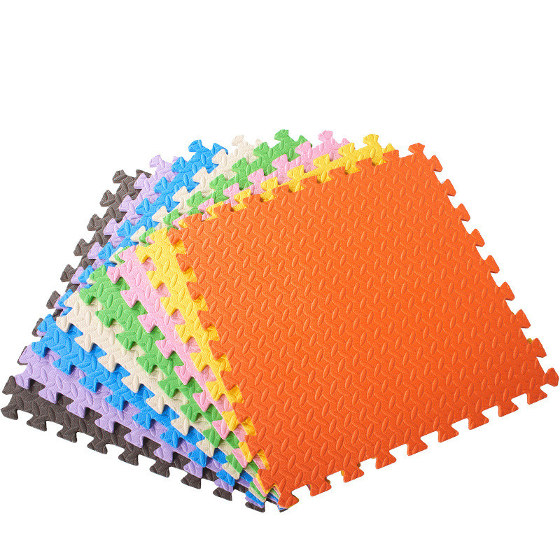 1PCS 30x30cm Baby Puzzle Carpet Baby Play Mat Floor Puzzle Mat EVA Children Foam Carpet Mosaic Floor Play Mats 8 Color