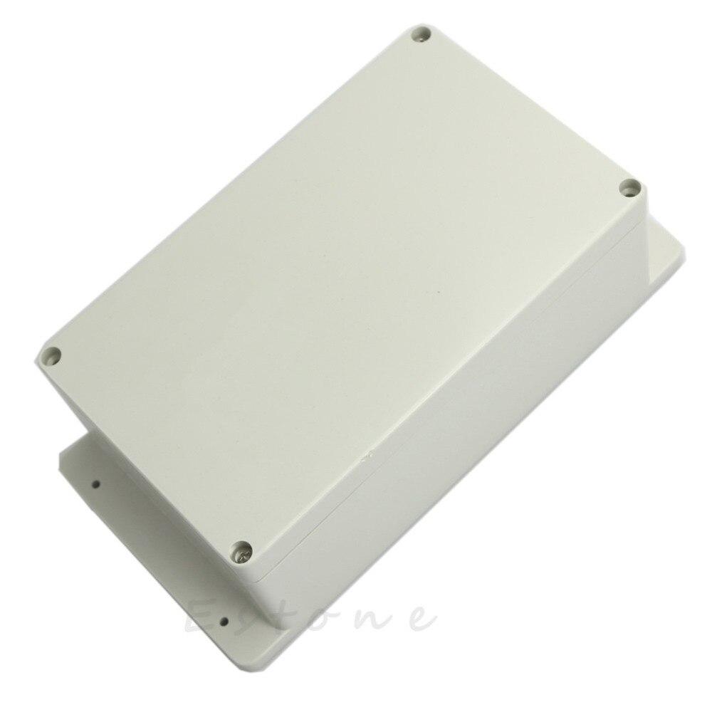 C18 chaude 200x120x75mm En Plastique Transparent Étanche Boîtier de Projet Électronique