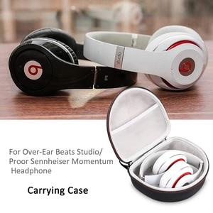 Image 5 - Newest EVA Hard Case for Over Ear Beats Studio/Pro & Beats Solo 2/Solo 3 Headphone and Cover for Sennheiser Momentum Headphone