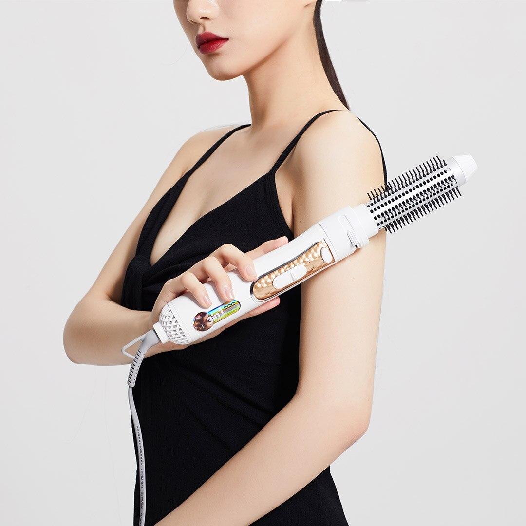 4 в 1 отрицательный ион горячий воздух гребень комплект щетка для горячей укладки волос фен для волос стиль фен для волос сухой выпрямитель л