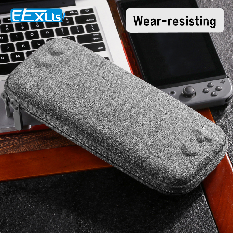 2018 Newest EVA Hard Bag Storage Travel Carry Pouch Case for Nintendo Switch for NS Nintend Switch Protective Gray Bags