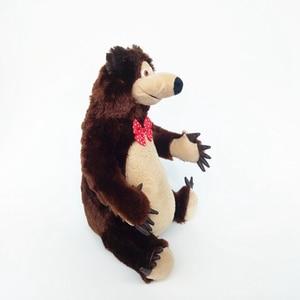 Image 5 - Маша и Медведь, игрушки с музыкой, Маша, мягкие плюшевые игрушки, Маша Y El Oso Juguetes для детей, подарки для малышей