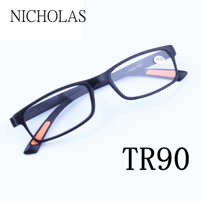 7c700d58a0 Tr90 Gafas para leer los hombres mujeres hyperopia Gafas presbicia Gafas  Eyeglass masculino edad hombres mujeres