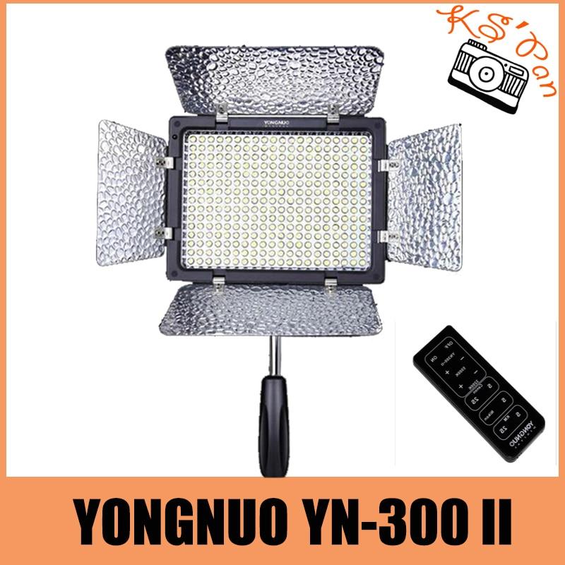 YONGNUO YN-300 II YN300II YN300 II LED Camera/Video Light for Canon for Nikon for Olympus for Pentax for Samsung бинокль pentax papilio ii 8 5x21