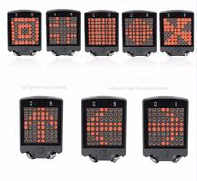 Bicycle Rear Light Bicycle Accessories Turn Signal Lamp Taillight Cycling Laser Light Safety Warning Light 8 Type Semaphore