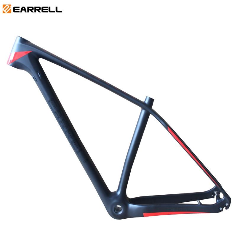 2018 EARRELL brand T800 carbon mtb frame 29er mtb carbon frame 29 carbon mountain bike frame 142*12 or 135*9mm bicycle frame diy carbon steel oval frame cutting dies