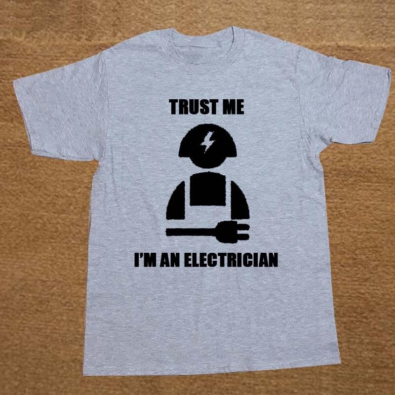 Neue vertrauen ich bin ich einen elektriker elektrische geschenk t ...
