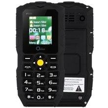 Оригинальный oeina XP1 IP67 телефон Водонепроницаемый Мощность банк длительным временем ожидания Открытый фонарик большой Динамик 1.8 дюймов сотовый телефон