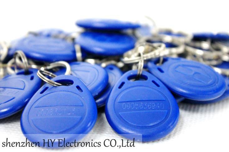 bilder für 100 TEILE/LOS Access Control-Card RFID Smart Card ID Schlüsselanhänger 125 KHz Id Karte