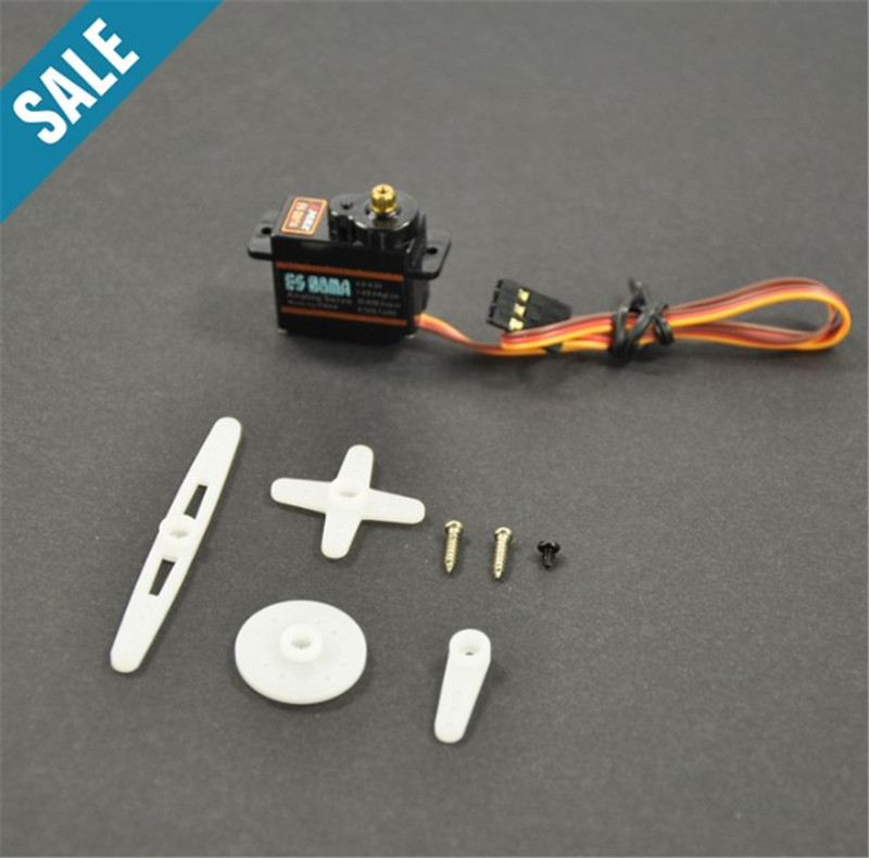 1pc Original Emax ES08MA II Mini Metal Gear Analog Servo 12g/ 1.8kg High-Speed Upgrade ES08MA jx pdi 5521mg 20kg high torque metal gear digital servo for rc model
