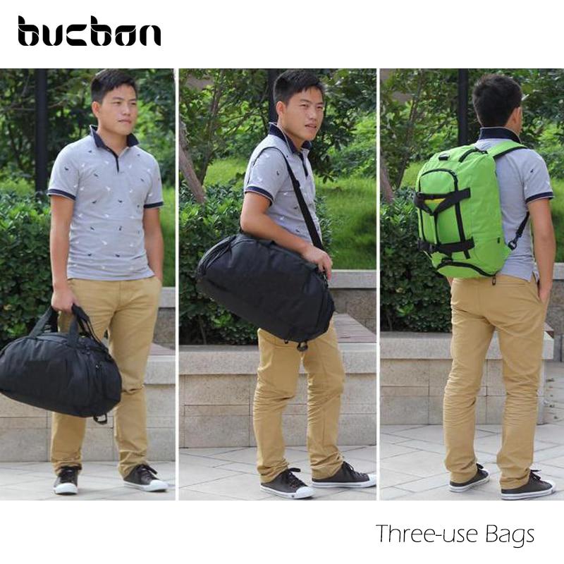 Bucbon Üç istifadəli İdman Çantası Portativ Çiyin Çanta - İdman çantaları - Fotoqrafiya 6